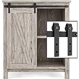 SMARTSTANDARD 3ft Cabinet Barn Door Hardware Kit - Super Mini Sliding Door Hardware - for Cabinet TV Stand Console - Simple a