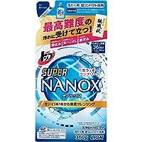 トップ スーパーナノックス 洗濯洗剤 液体 詰め替え 360g