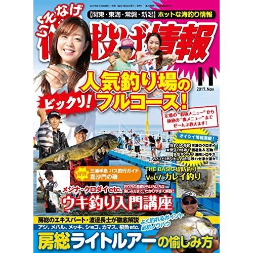 磯・投げ情報 2017年 11月号 [雑誌] (BIG1シリーズ)