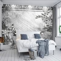Sproud ヴィンテージの木製の壁の壁画壁紙リビングルームベッドルーム壁紙絵画テレビ背景立体壁紙 150 Cmx 105 Cm