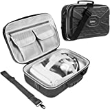 Esimen Hard Protective Travel Case for Oculus Quest 2 Carrying Case Controllers Accessories with Shoulder Strap, VR Glass Pro