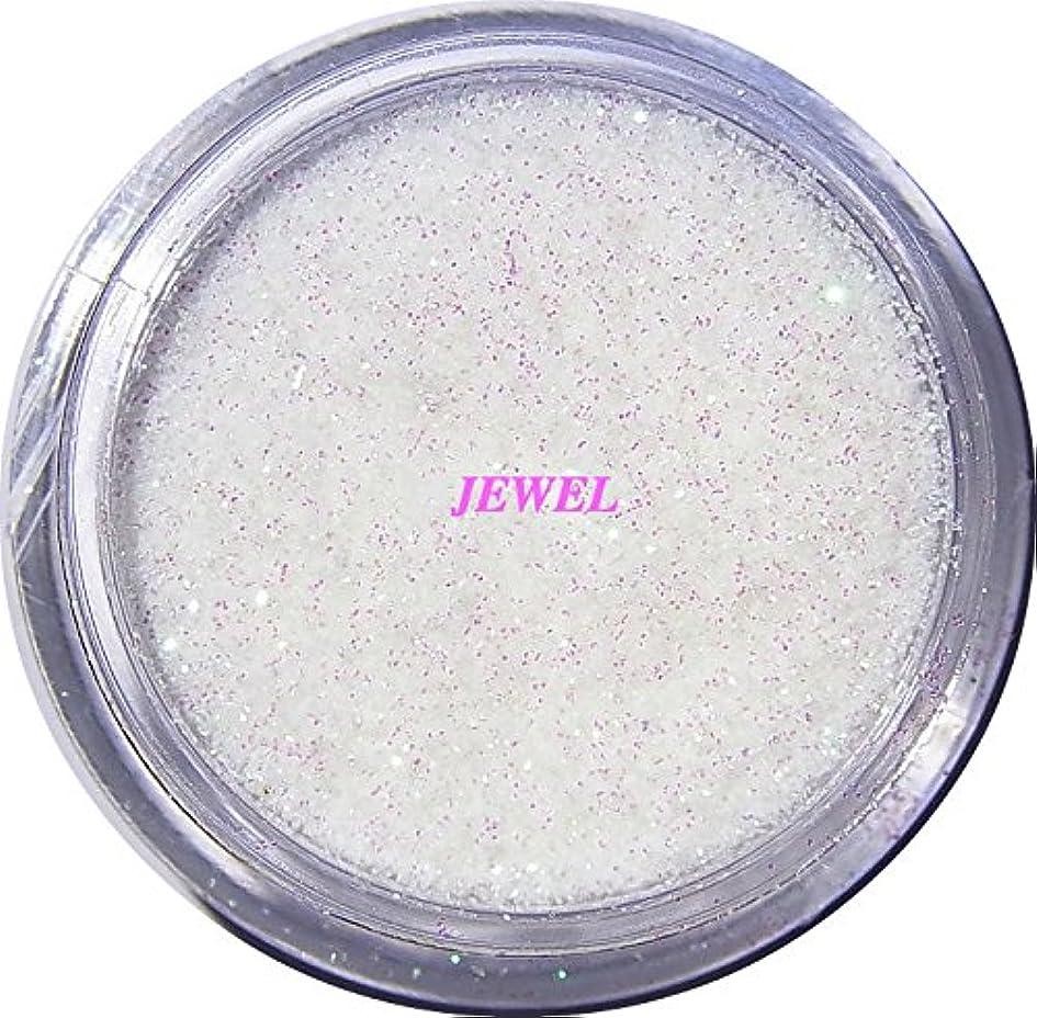 作物継続中悲しむ【jewel】 超微粒子ラメパウダーたっぷり2g入り 12色から選択可能 レジン&ネイル用 (オーロラホワイト)