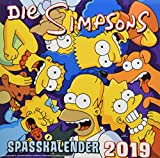 Simpsons Wandkalender 2019: Der Simpsons Spasskalender 2019