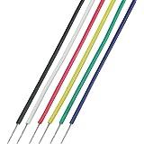 協和ハーモネット UL1571 AWG30 耐熱架橋ビニル絶縁電線 2mX6色 黒白赤黄緑青