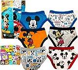 Disney(ディズニー) ミッキー ボーイズパンツ 6枚 + ミニタオル1枚セット 男児 男の子 MICKEY AND THE ROADSTER RACERS (ミッキーマウスとロードレーサーズ) 下着 パンツ インナー ブリーフ 2T/3T