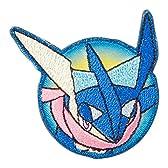 ミノダ ポケットモンスター XY キラキラ刺繍デコシール ゲッコウガ T01R0070