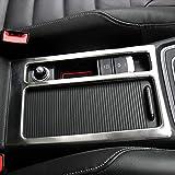 RIMIDI フォルクスワーゲン ゴルフ 7/Volkswagen Golf 7 ステンレス鋼のインテリア水カップホルダー化粧枠カバートリム