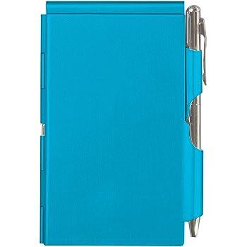 Flip Note (フリップノート) メモ帳 軽量 ペン付ノートパッド ブライトブルー
