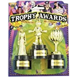 Forum Novelties Costume Party Award Trophies - 3 Pack