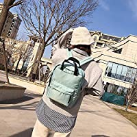 ZHANGYOUDE Oxford Cloth Waterproof School Backpack Casual Handbag Shoulder Bag (Color : Green)
