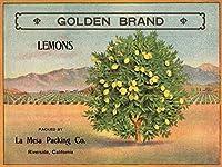 Goldenブランド–リバーサイド、カリフォルニア–Citrusクレートラベル 24 x 36 Giclee Print LANT-57674-24x36