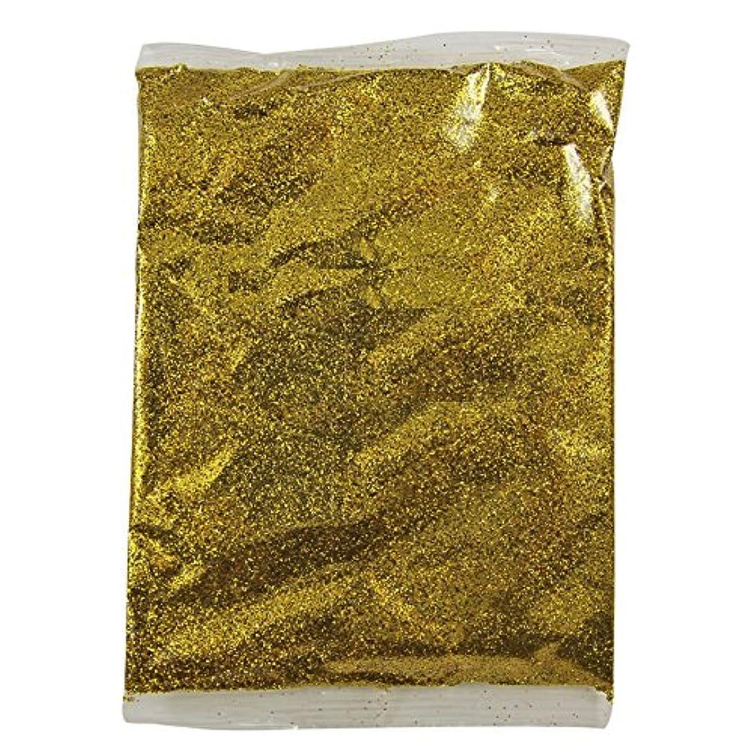ベイビー抜粋みがきますFidgetGear 100グラムホログラフィック虹色グリッターファインダストネイルアートパウダーワイングラス工芸 ゴールド