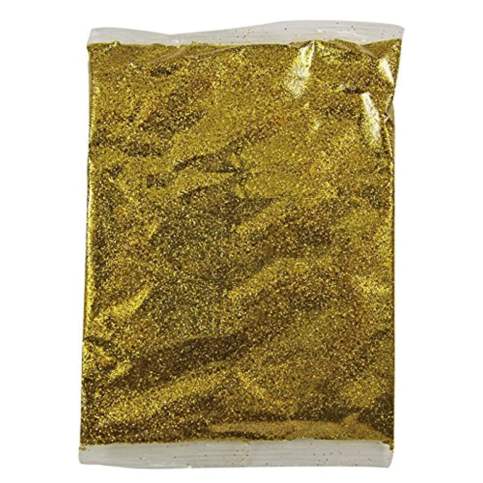 レコーダー古いアクセスできないFidgetGear 100グラムホログラフィック虹色グリッターファインダストネイルアートパウダーワイングラス工芸 ゴールド