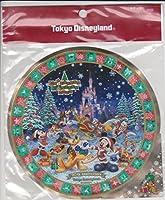 東京ディズニーランド christmas fantasy 2003 ステッカー