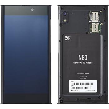NuAns NEO CORE(本体)のみ ケース・カバー別売り 端末携帯電話機本体 Windows10Mobile 高精細5インチディスプレイ NA-CORE-JP