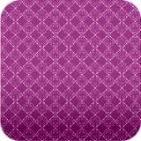 上品な紫アーガイル模様壁紙【スマホ待受壁紙】