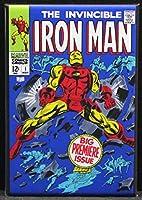 The Invincible Iron Man # 1Comic cover冷蔵庫マグネット。