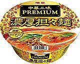 明星 中華三昧PREMIUM 濃厚担々麺 126g×12個
