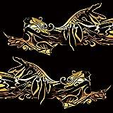 女神カーステッカー141■バイナルグラフィック車ワイルドスピード系デカール(ゴールド)★色変更可★