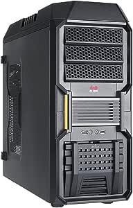 IN WIN PCケース ATX対応 MicroATX対応 496x200x508(mm) ブラック 300mmVGAサポート EZ-SWAP マジックエアフィルター IW-BUC101