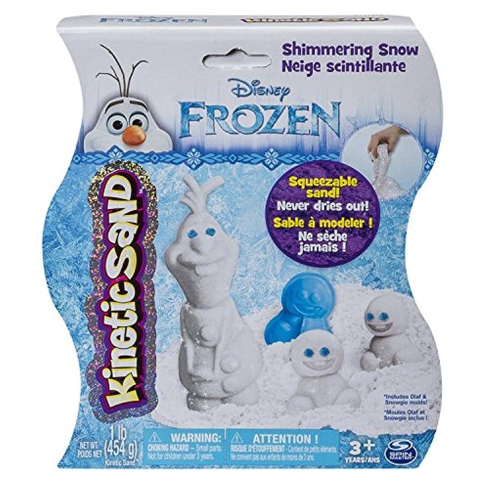 Kinetic Sand - Disney's Frozen - Shimmering Snow Olaf [並行輸入品]