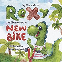 amazon co jp rexy the dinosaur and a new bike children s book