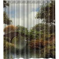 Old Stone brigeshower curtain-waterproof-machine washable-69