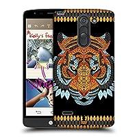 Head Case Designs タイガー アニマルリーフ・モザイク ハードバックケース LG G3 Stylus / D690N / D690