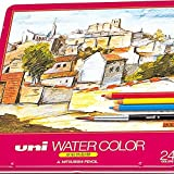 Uni Mitsubishi Pencil Water color 24 color set UWC24C (japan import) [並行輸入品]