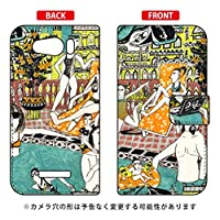 SECOND SKIN 手帳型スマートフォンケース 若林夏 「pool」 / for AQUOS PHONE Xx mini 303SH/SoftBank  SSH303-IJTC-401-LJ68