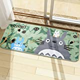 Super Cute Totoro Bathroom Rugs Bath Mat Bedroom Living Room Area Rugs Very Soft Anti-Slip