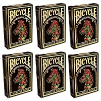 自転車Warrior Horse Collectible Playing Cards – 6 Sealed Decks