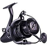 Sougayilang Spinning Fishing Reel 12+1BB Metal Body Smooth Carp Spinning Reels for Saltwater Freshwater Fishing