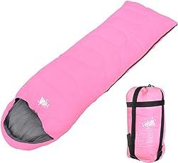 WhiteSeek 寝袋 シュラフ 封筒型 コンパクト収納 抗菌タイプ【最低使用温度5℃】