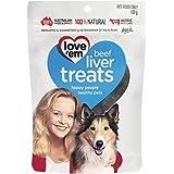 Love Em Beef Liver Treats, Small and Medium, Puppy, 500g Dry Dog Food