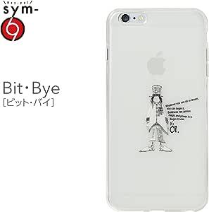 &y sym 【iPhone6s Plus / iPhone6 Plus 両対応】 5.5インチ ソフトTPUケース キャラクター IMD光沢印刷 Bit・Bye(ビット・バイ) 乳白クリア