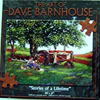 """The Art of DAVE BARNHOUSE""""Stories of a Lifetime"""" 1000 Piece PUZZLE"""