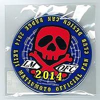 松本零士公式ファンクラブ 缶バッジ No.01(FCロゴ2014青)
