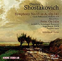 Shostakovich: Symphony No.15 Op.141, Suite to Words by Michelangelo Op.145a, Novorossiisk Chimes Op. 111b by Czech Philharmonic Orchestra (2016-04-30)