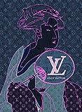 ルイ・ヴィトン キャンバスポスター 喜多川歌麿 Canvas Poster ルイヴィトン 美人画 UTAMARO #sh15 STAR DESIGN A3サイズ(297×420mm)