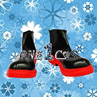 【サイズ選択可】コスプレ靴 ブーツ 12L1113 VOCALOID 派生 重音テト 女性24.5CM