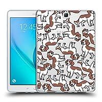 Head Case Designs ウェルシュスプリンガー・スパニエル ドッグブリード・パターン 13 Samsung Galaxy Tab A 9.7 専用ソフトジェルケース