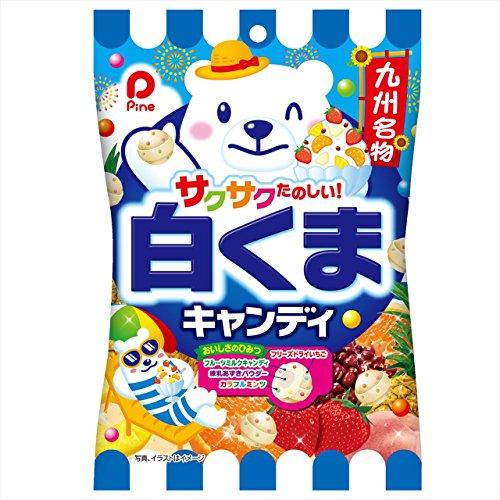 パイン 白くまキャンディ 80g×10袋