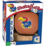 NCAA Kansas Jayhawks Basketball Shake n' Score Dice Game by MasterPieces [並行輸入品]