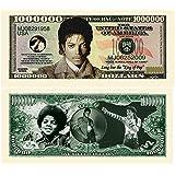 Limited Edition Michael Jackson King of Pop Commemorative Million Dollar Collectible Bill [並行輸入品]