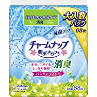 チャームナップ吸水さらフィパンティライナー消臭タイプ68枚 × 3個セット