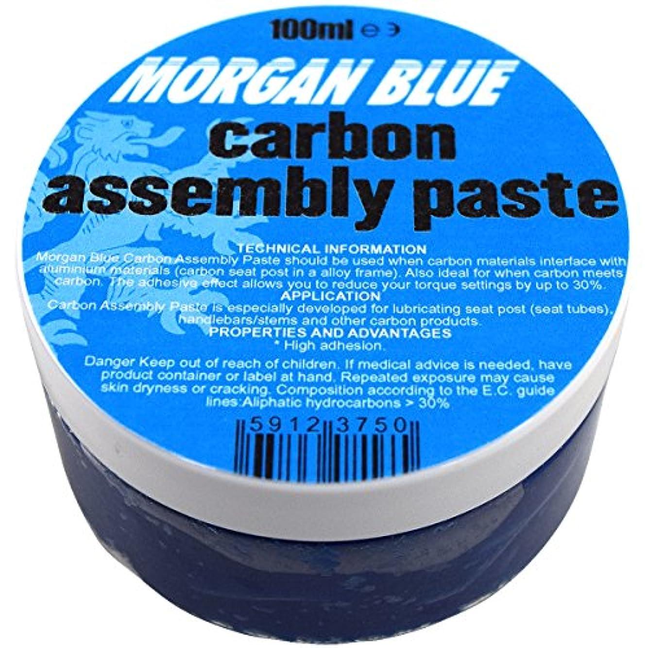 一流キラウエア山伸ばすMORGAN BLUE(モーガンブルー) グリス カーボンアッセンブリーペースト [carbon assembly paste] 100ml カーボンパーツの締付部分に最適