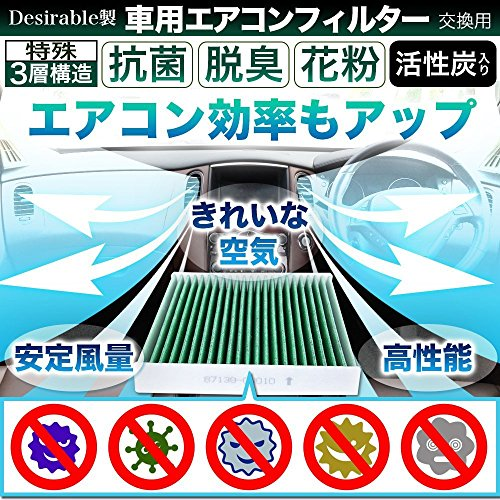 Desirable製 特殊3層構造&活性炭入り ホンダ車用 ...