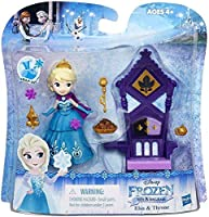 Disney Frozen Little Kingdom Elsa & Throne Mini Doll [並行輸入品]