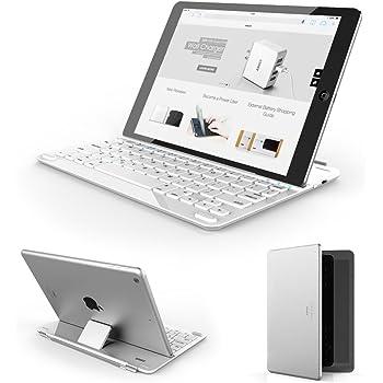 Anker TC930 ウルトラスリムBluetoothキーボードカバー iPad Air 2/ Air用 (ホワイト)
